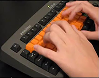 SpeedSkin cover on a PC keyboard