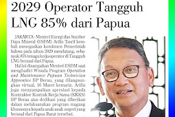 Tangguh LNG Operators are 85% from Papua