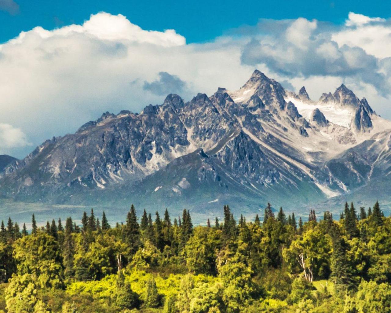 Парк Денали и Гора МакКинли в США