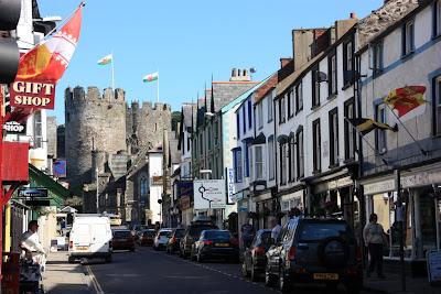 Древний валийский город Конви