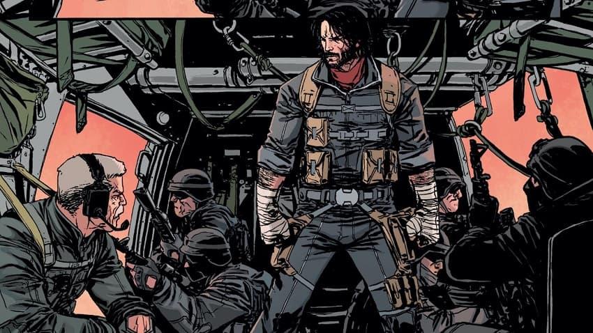 Netflix снимет экранизацию BRZRKR - эпического комикса Киану Ривза с Киану Ривзом