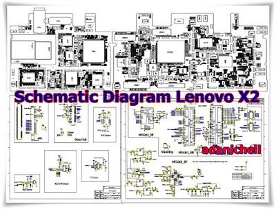 Skema Diagram Lenovo X2