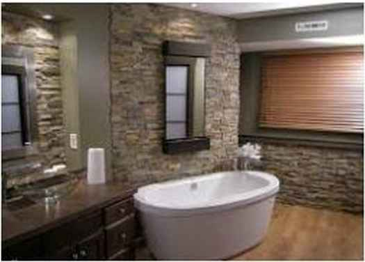 Bathroom Remodel Ideas With Stone Exotic
