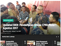 Cara Daftar Online CPNS KemenkumHAM dan MA 2017
