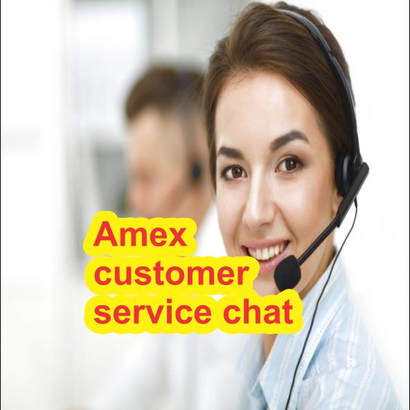 Amex customer service chat