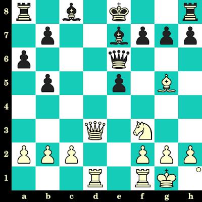Les Blancs jouent et matent en 2 coups - Ronald Bancod vs Richard Forster, Weilburg, 1996