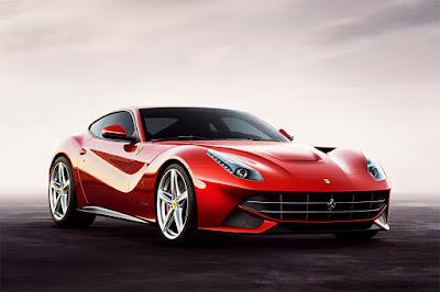 Supercar-hypercar Ferrari