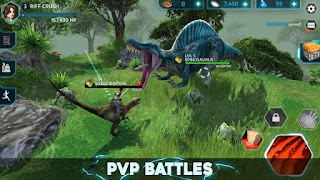 Dino Tamers MOD APK Jurassic Riding MMO Unlimited Money