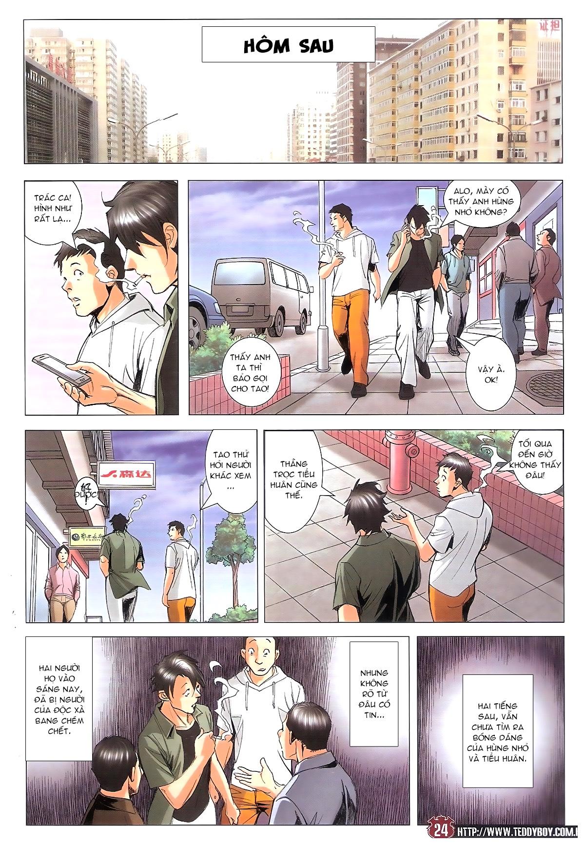 Người Trong Giang Hồ chapter 1805: thiên đao vạn trảm trang 23