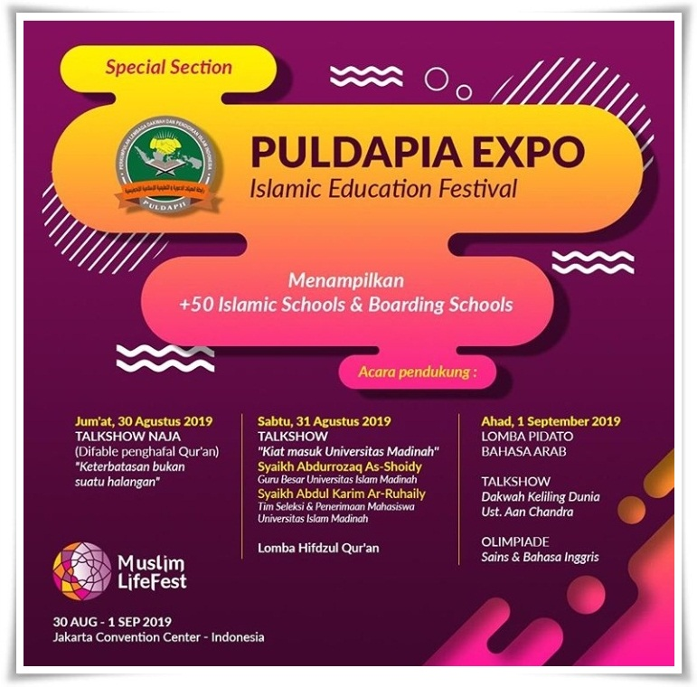 Indonesia Muslim Lifestyle Festival hadirkan Islamic Education Fair