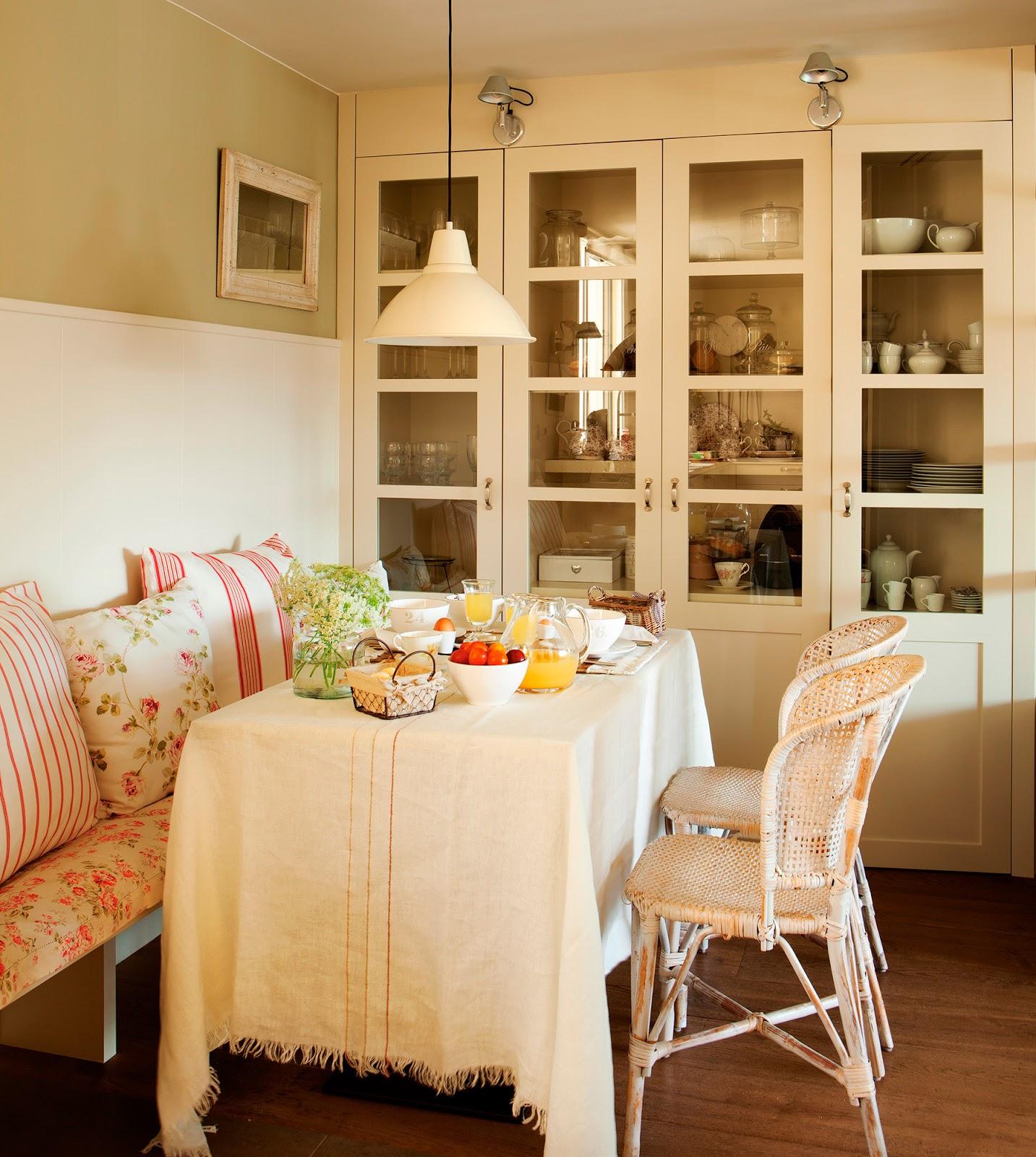 Muebles para casas peque as 5 mesas perfectas para for Mesas para comedores pequea os