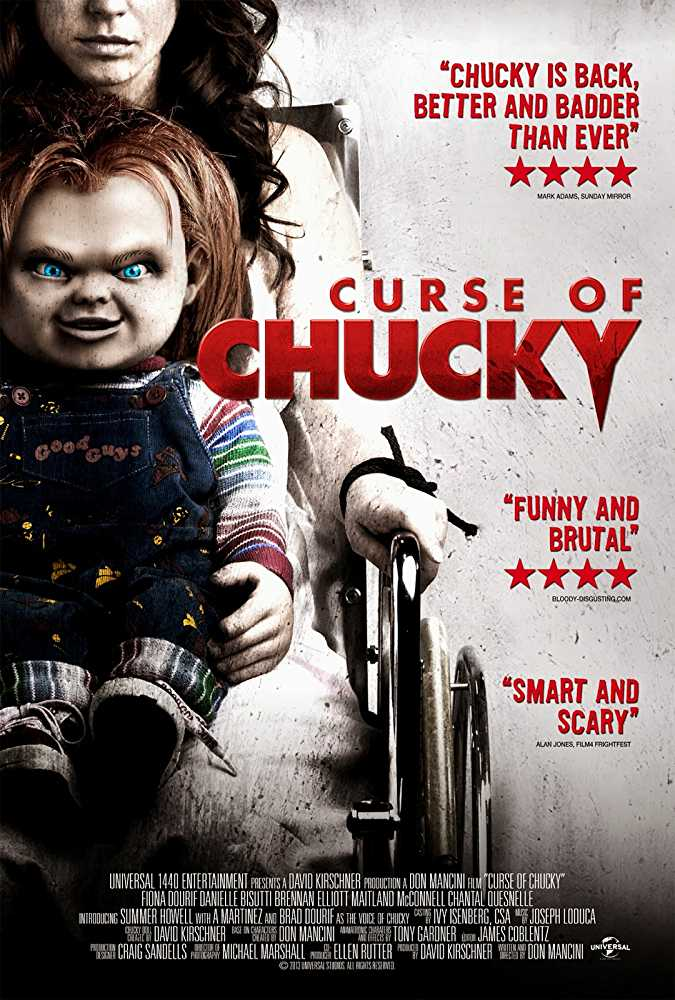 Poster Curse of Chucky 2013 Full Movie Dual Audio Free Download 300Mb