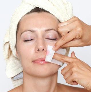 Not wax your face after facial