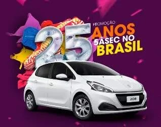 Cadastrar Promoção 5àsec 2019 Aniversário 25 Anos Brasil Carro 0KM 1 Ano Lavanderia