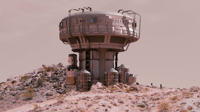 Mars outpost (from Martian Land)