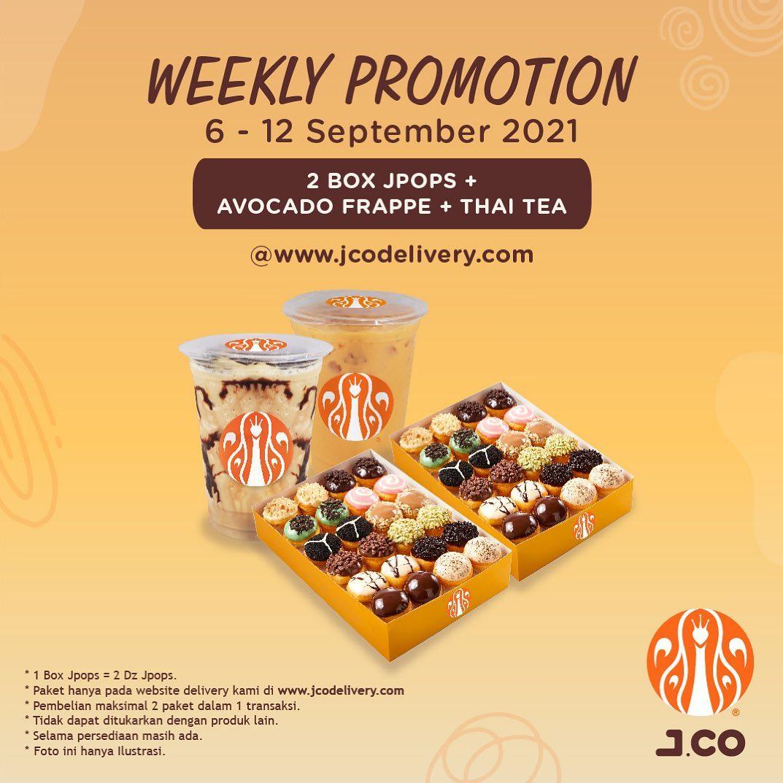 Promo JCO Diskon Weekly Promotion 6 - 12 September 2021