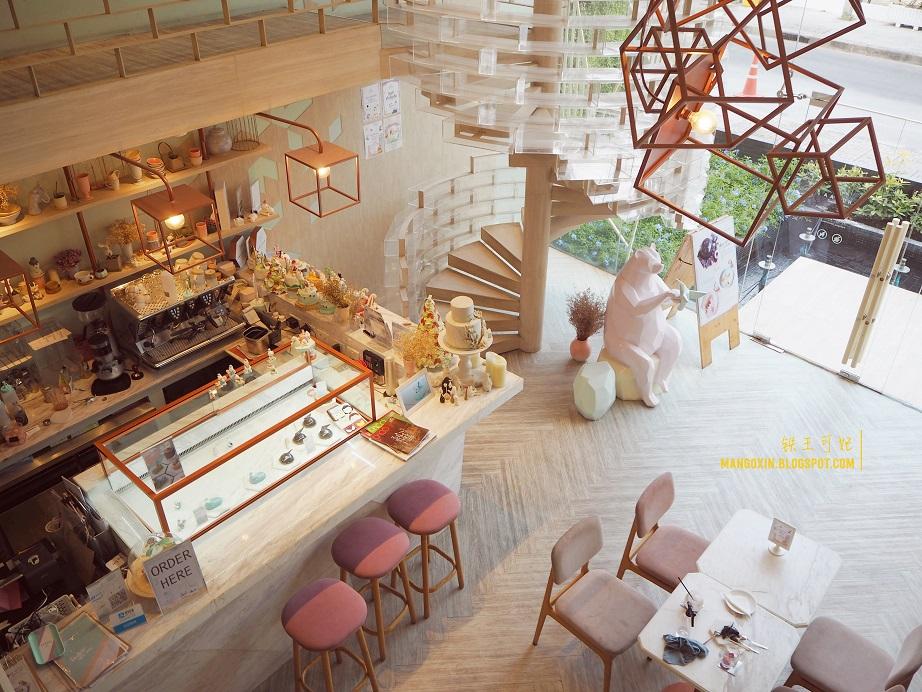 [曼谷吃喝篇] BTS Ekkamai 粉嫩法式甜品店 Shugaa bangkok