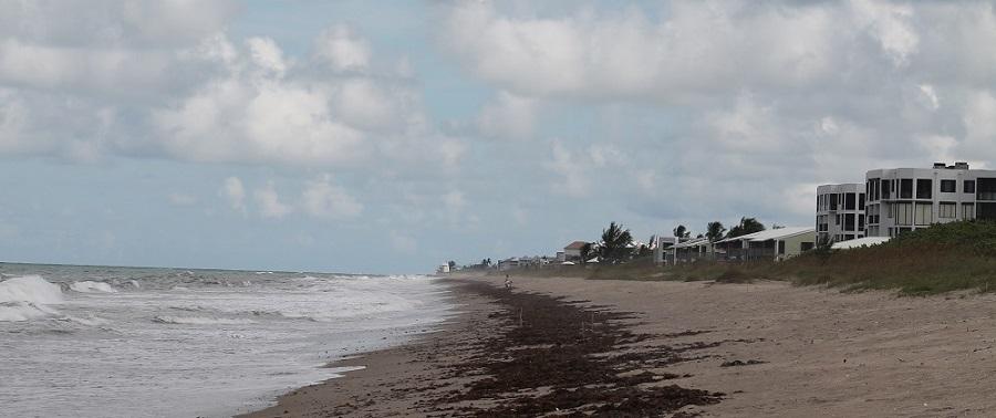 Playas en la costa del Atlántico