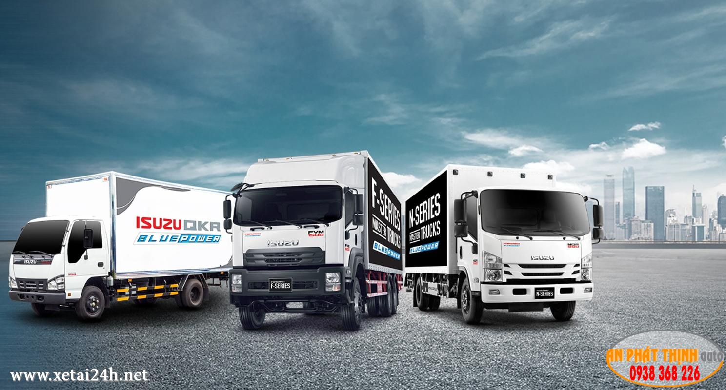 Giá xe tải Isuzu tháng 8 / 2018