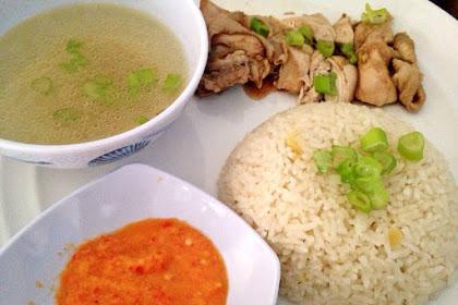 Resep Nasi Ayam Hainan khas Tiongkok