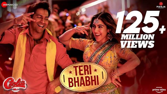 तेरी भाभी Teri Bhabhi Lyrics in Hindi – Coolie No. 1 | Javed - Mohsin | Dev Negi | Neha Kakkar