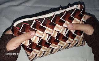 Cara membuat furing pada dompet plastik bungkus kopi