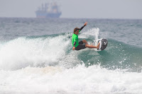 1 Thomas Doumenjou FRA 2017 Junior Pro Sopela foto WSL Laurent Masurel