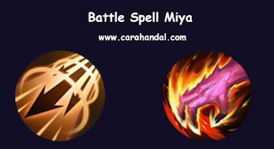 Battle Spell Miya auto savage top global