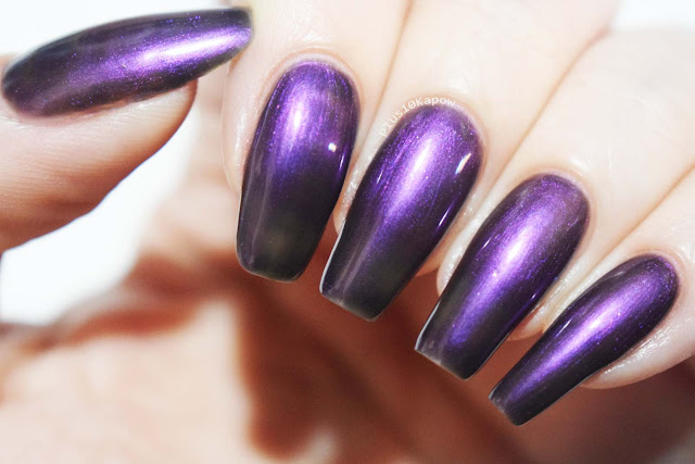 Dystopia Nail Polish Samhain Collection Swatches The Veil is Lifted