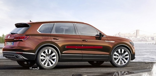 2018 volkswagen touareg the 3rd generation of vw touareg. Black Bedroom Furniture Sets. Home Design Ideas