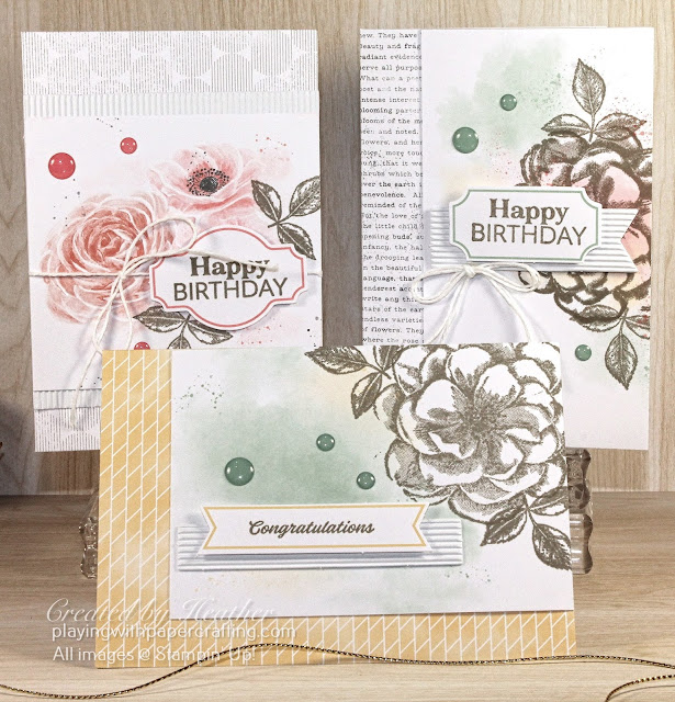 kit collection - sentimental rose card kit 2