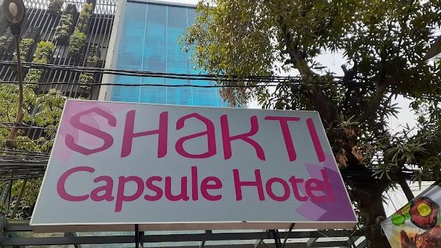 Berasa Seperti Astronot Saat Menginap di Shakti Capsule Jakarta