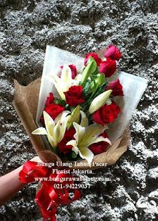 Pesan Bunga Valentine di Sekitar Kemayoran