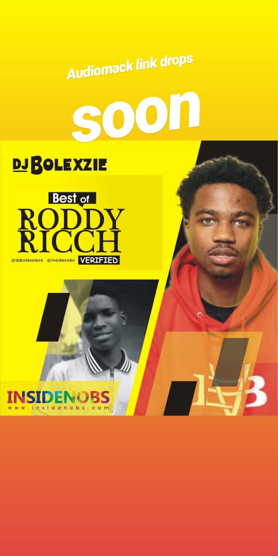 Best Of Roddy Ricch DJ BOLEXZIE X INSIDENOBS