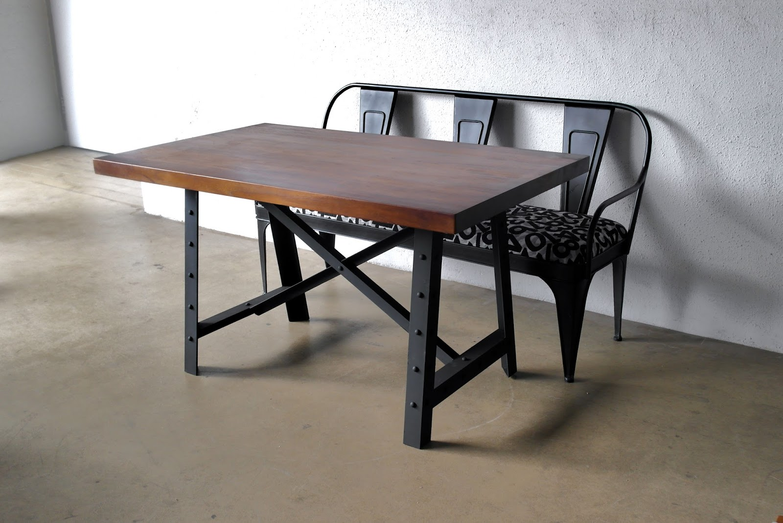 industrial dining table and chairs comfy for small spaces furniture ii second charm