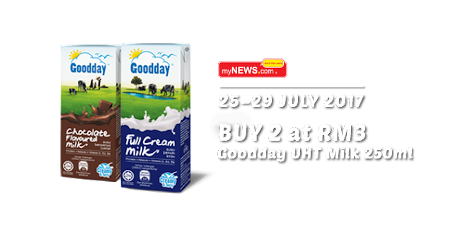 MyNews.com Goodday UHT Milk 250ml Buy 2 RM3
