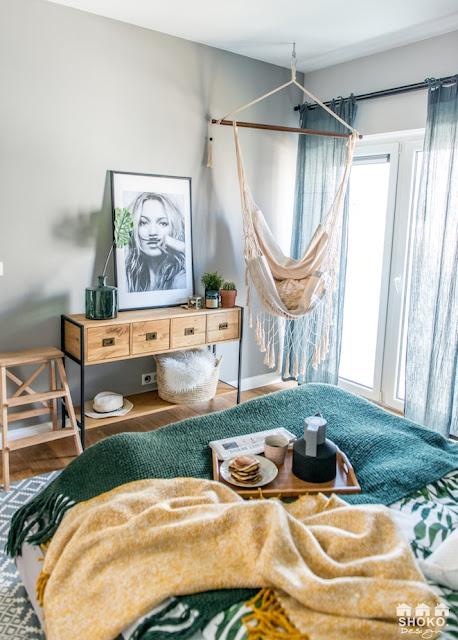 hamac in dormitor