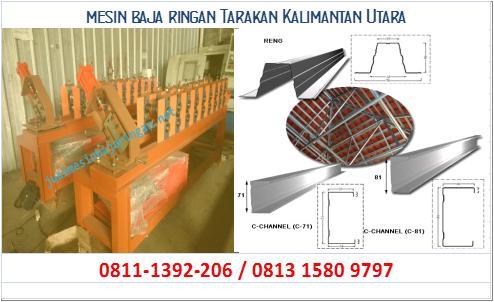 mesin baja ringan Tarakan Kalimantan Utara
