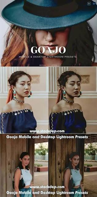 Goajo Mobile and Desktop Lightroom Presets free download