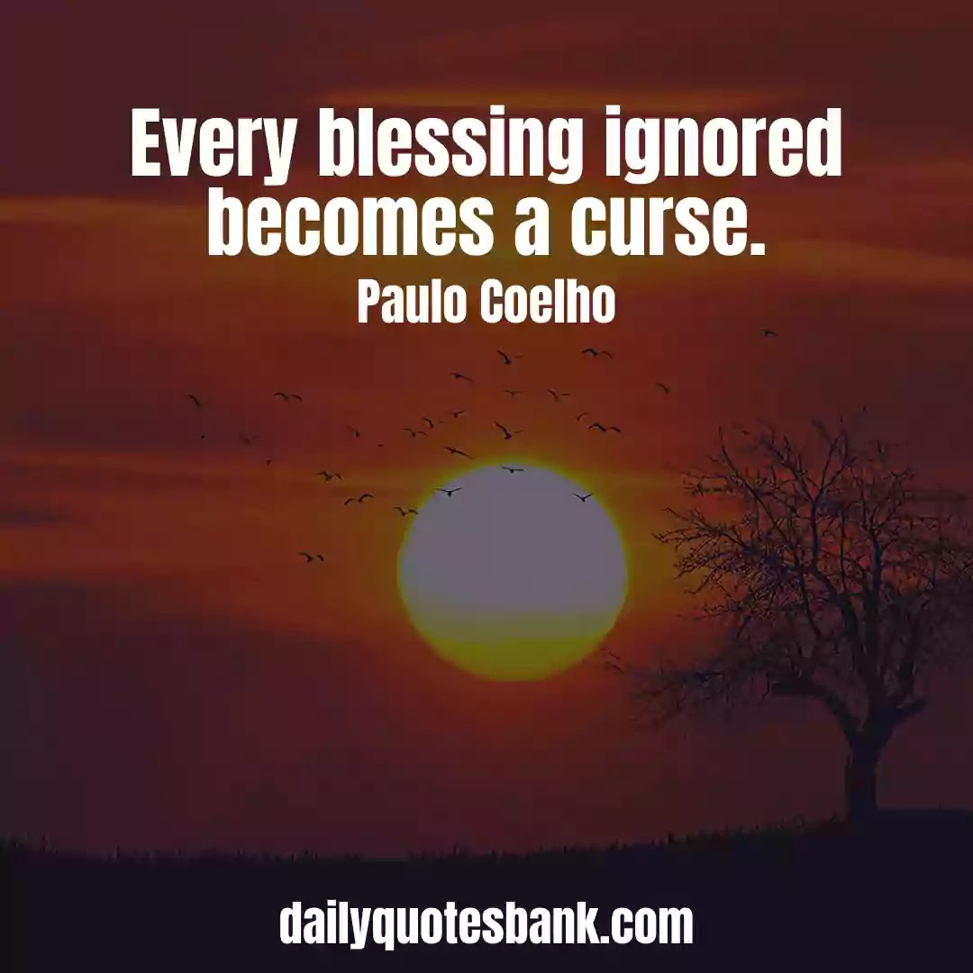 Paulo Coelho Quotes On Famous Lines That Will Change Your Life