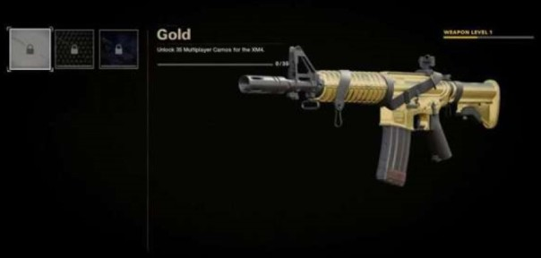 Gold Camouflage