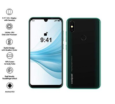 Coolpad Cool 3 (2GB RAM, 16GB Storage) (Green)