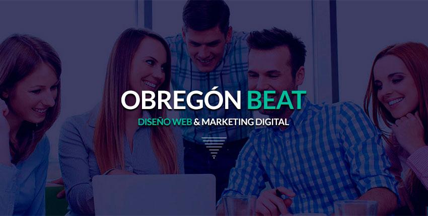 Obregon Beat Agencia Digital Diseño Web y Marketing Bogota Medellín Santa Marta