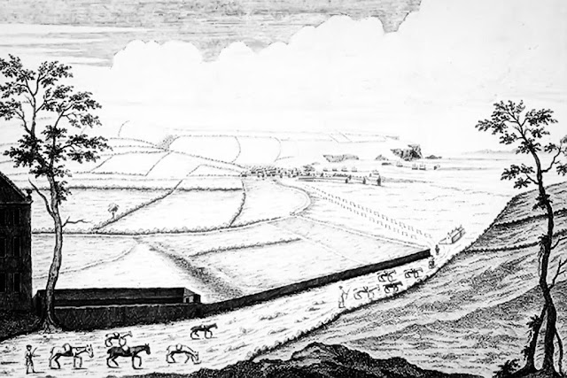 Oldest Known Illustration Of Whitehaven c1630