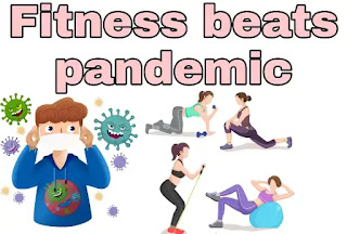 Essay on fitness beats pandemic in hindi