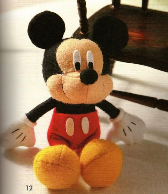 Mickey E Minnie Com Moldes Para Imprimir Como Fazer