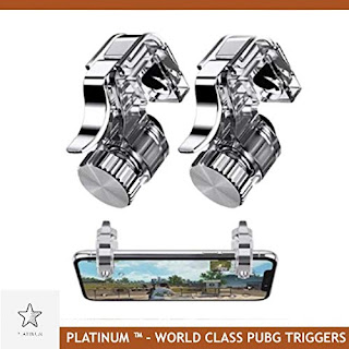 PUBG Mobile Metal Gaming Button Dual Triggers