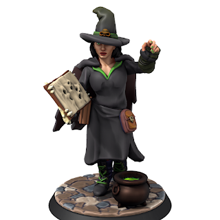 Tasha from HeroForge
