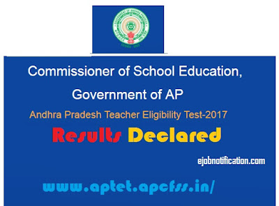 Andhra Pradesh [ APTET 2018 Results] Released Check @aptet.apcfss.in
