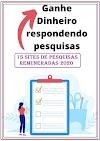 15 Sites de Pesquisas Remuneradas Online em Português para você ganhar uma renda extra em 2020!